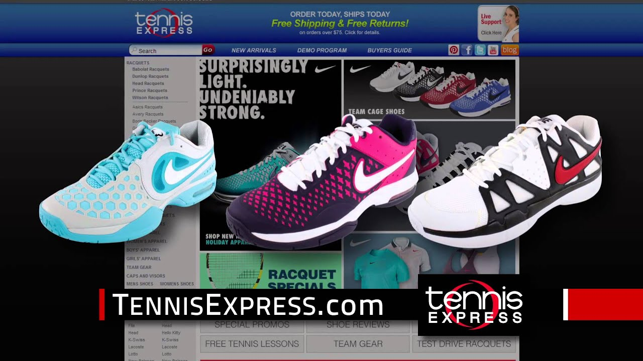 Nike Tennis for the Family | 15 Second Commercial | Tennis Express
