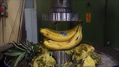 Hydraulic press kitchen: Fruit salad