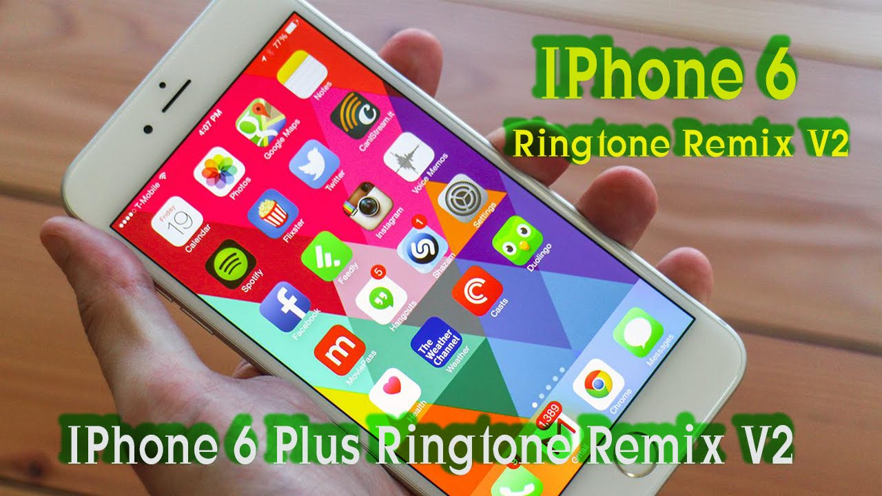 how to add song to ringtone iphone 6