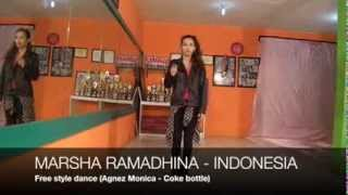 MARSHA RAMADHINA free style dance for 2014 Indonesia SMTown Global Audition