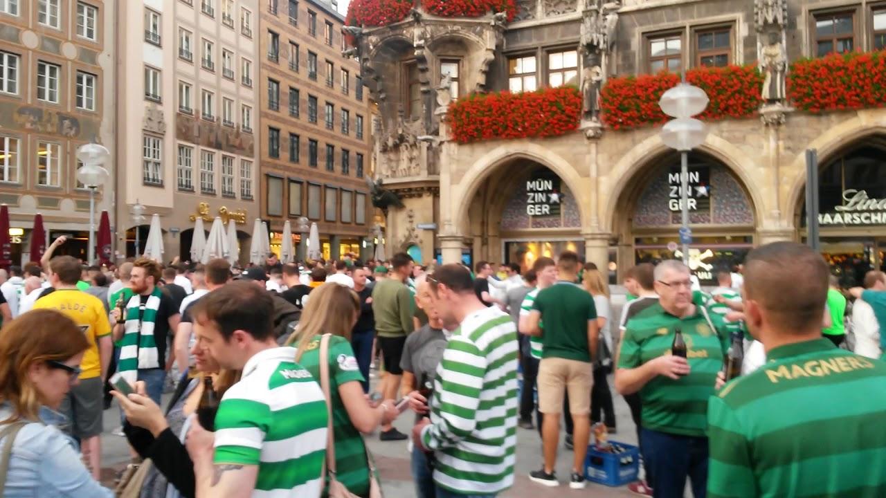 Celtic Glasgow Fans