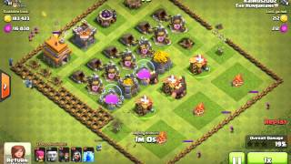 Jackpot base in clash of clans!!! (MUST WATCH)