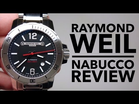 Raymond Weil Nabucco Men S Watch Review Model 3900 St 05207 Youtube