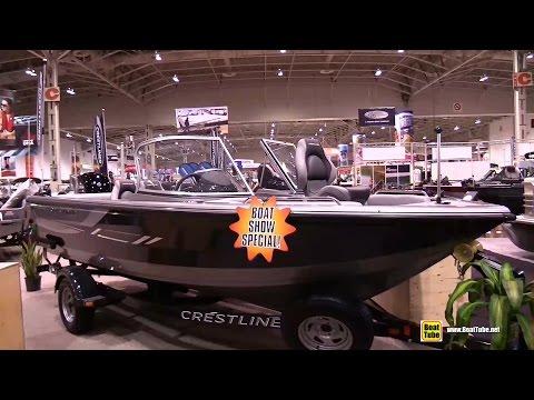 2015 Crestliner 1850 Sportfish SST Fishing Boat - Walkaround - 2015 Toronto Boat Show
