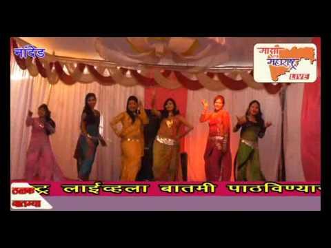 मराठ मोळ्या डान्सचा नावाखाली माळेगावात बॉम्बे डान्स