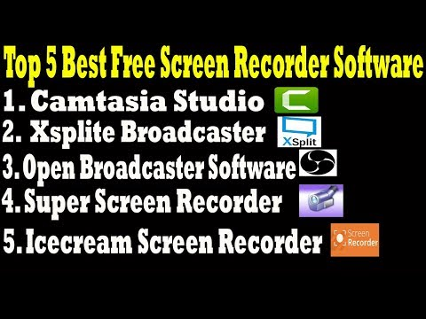 Top 5 Best Screen Recorder Software - How To Record Computer Screen? - Free Screen Recorder Software