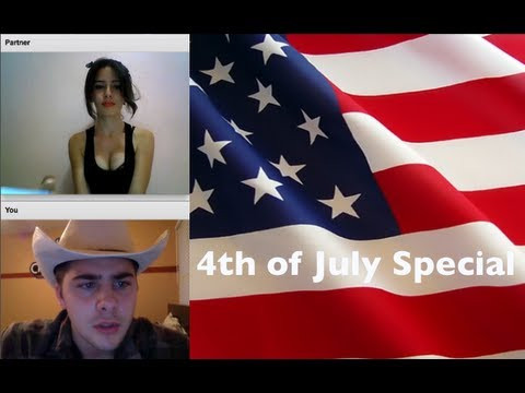 MERICA. 4TH OF JULY SPECIAL. [Chatroulette Experience]