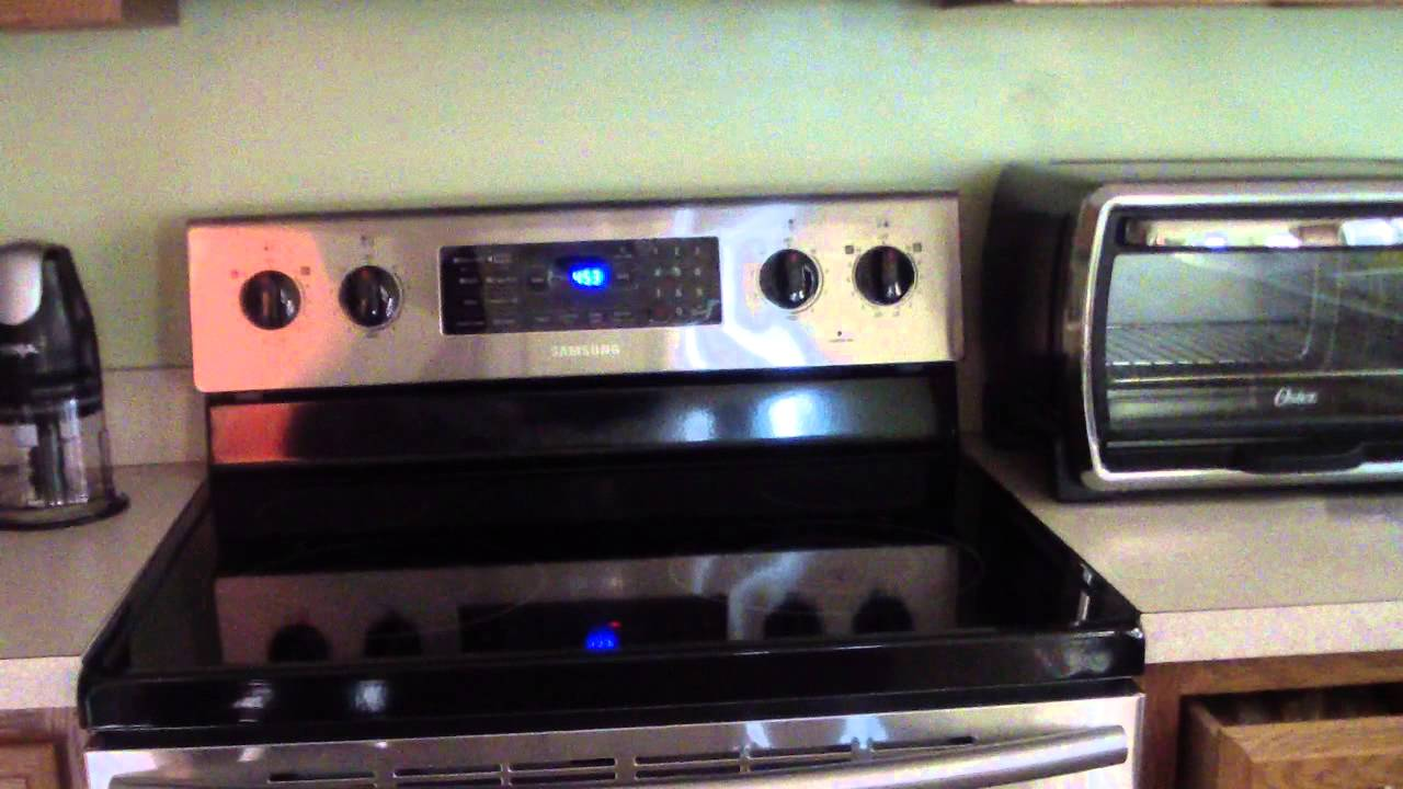 Samsung Fe R300 Electric Range Convection Oven Youtube