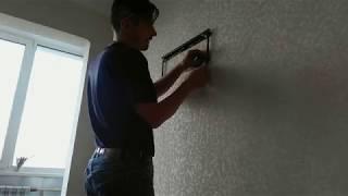 монтаж телевизора LG 42LB65 на стену при помощи Walfix S-123B