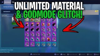 'NOUVEAU Matériel Illimité 'Dieu Mode Glitch! 🤯😳 ' À Fortnite Save The World