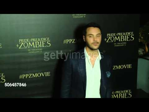 Jack Huston at 'Pride And Prejudice And Zombies' LA Premiere
