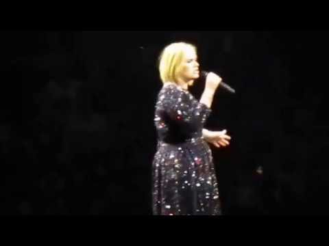 Adele - Hello - Bell Center - Montreal - Quebec - September 30th 2016