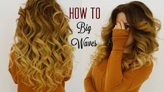 How to do Hair Beach Waves with curling iron Makeup By Ani and Hairstylist Ani Thumbnail