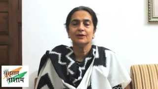 Kiran Choudhry wishes people of Haryana on Dussehra