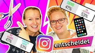 Instagram entscheidet unsere Sonntags Challenge! Eva vs Kathi | Überraschung Sonntagschallenge #131