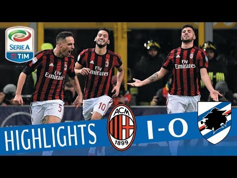 Milan - Sampdoria 1-0 - Highlights - Giornata 25 - Serie A TIM 2017/18
