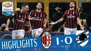 Milan - Sampdoria 1-0 - Highlights - Giornata 25 - Serie A TIM 2017/18 streaming