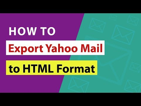 How To Export Yahoo Mail To HTML Format With Email Attachments ?