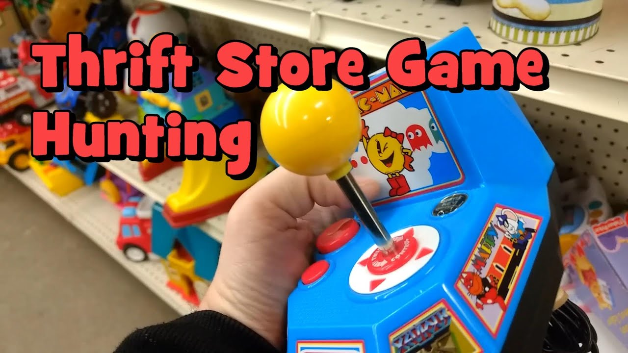 Thrift Store Game Hunting  6  Lucky and Interesting Finds... (Plus Trip to  a Local