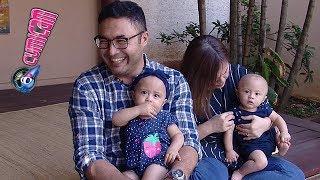 Wajah Kembar Bayi Cynthia Lamusu dan Surya Saputra Bikin Gemas - Cumicam 24 September 2017