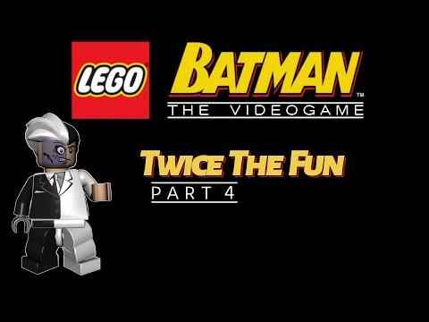 Twice The Fun | Lego Batman - Part 4 | Two-Face Chase | Full Walkthrough