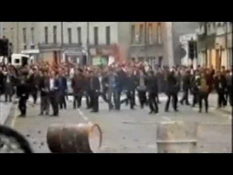 Protestant view of the Bogside riots Aug 1969