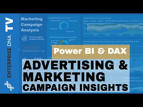 Advertising & Marketing Campaign Insights Using Power BI - Reporting Application Example