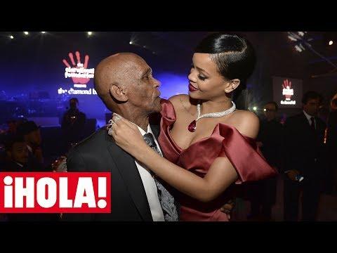 RIHANNA baila con su abuelo de 90 a�os en su fiesta de cumplea�os