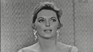 What's My Line? - Julie London; Martin Gabel [panel] (Aug 9, 1959)