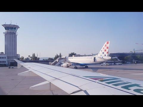 FLIGHTREPORT | ALITALIA Economy Class from Rome Fiumicino (FCO) to Split (SPU)