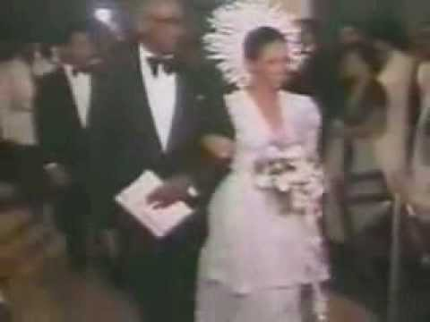 Jean Claude Duvalier and Michele Bennet Wedding 25 Mai 1980