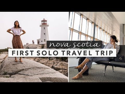 First Time Solo Travelling Tips and Journey Through Nova Scotia Vlog | by Erin Elizabeth
