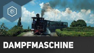 Wie funktioniert die Dampfmaschine?