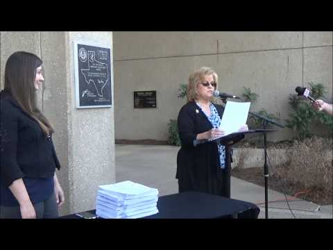 Press Conference - Petitioning the City of Arlington TX to BAN Red-Light Cameras