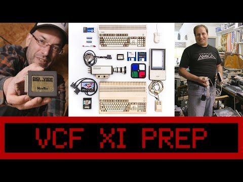 VCF XI Prep - Commodore Amiga Digital Imaging - 4K UHD