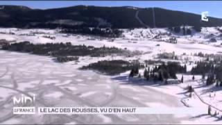 VUE D'EN HAUT : Le lac des Rousses