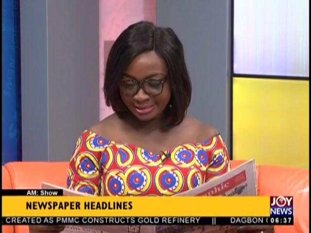 Hope For Youth - AM Show Headlines on JoyNews (18-10-18)