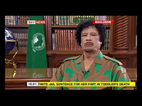 Libya's Gadaffi interview 26 Oct 2009