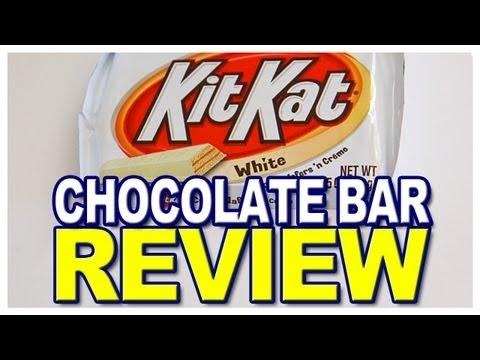 Hershey Kit Kat White Crisp Wafers 'n Creme Review