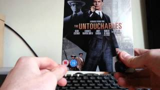 The Untouchables Blu-ray Steelbook Unboxing