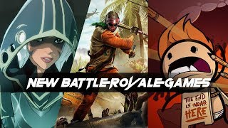 NEW AND UPCOMING BATTLE ROYALE GAMES FOR 2019 AND 2020
