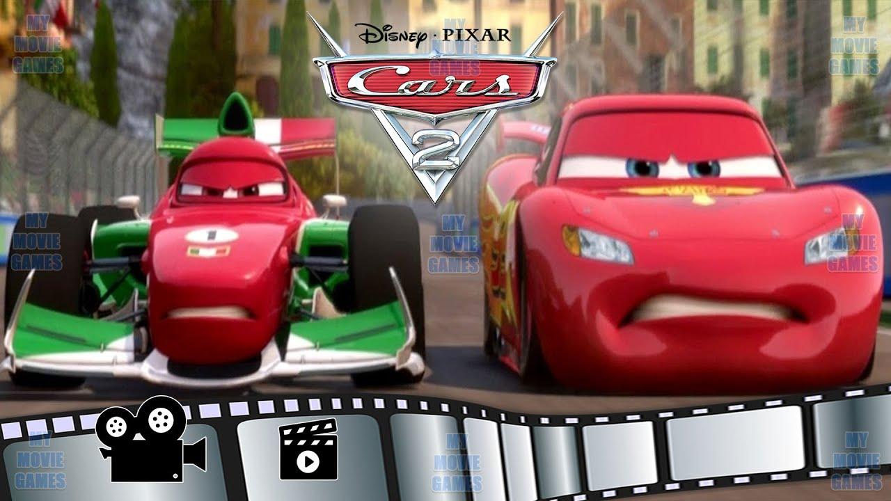 Cars 2 Film Italiano Bambini Gioco Disney Cartoni Animati Saetta Mcqueen My Movie Games Youtube