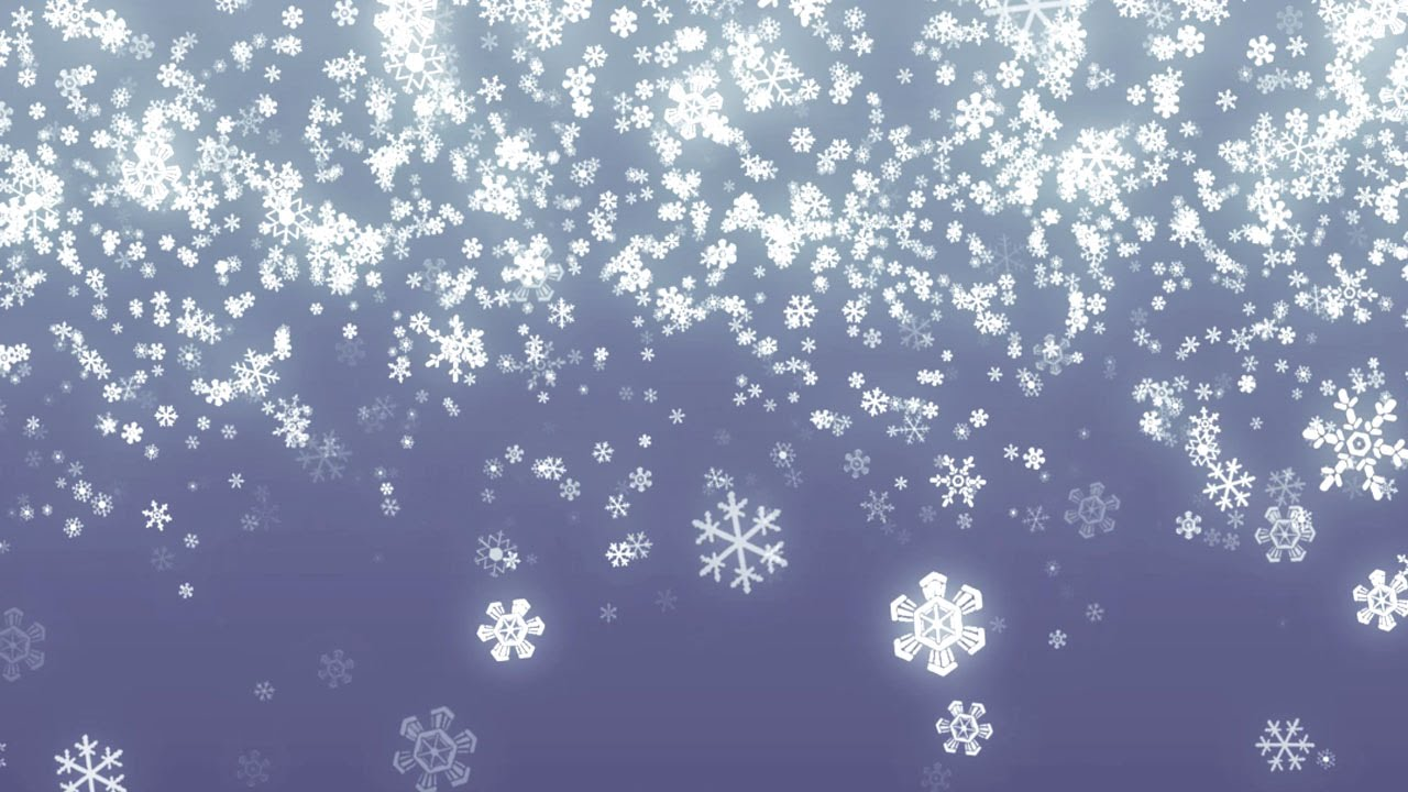 New England Fall Themed Wallpaper Falling Snowflakes Background Loop For Winter Holidays