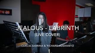 Jealous Labrinth live cover Odelia Sabrina Richard Addyanto