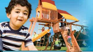 Memphis Playset - Call (901) 888-3523 - Happy Backyards