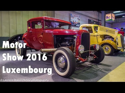 International Motor Show Luxembourg 2016 [DJI drône]