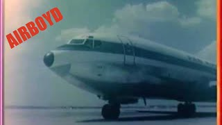 Pan American Boeing 707 - Operation Safe Haven (1967)
