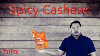 Gourmet Organic Raw Flavored Spicy Cashews