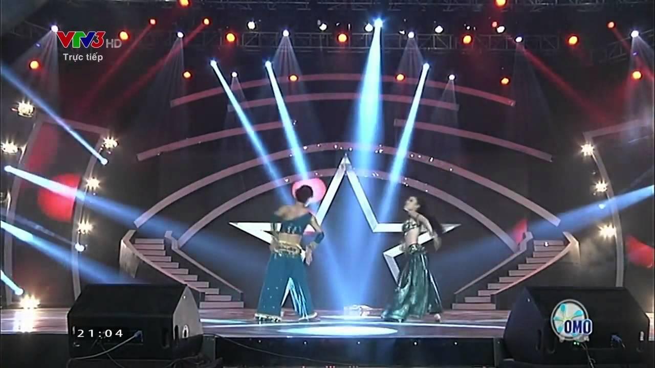 Vietnam's Got Talent: Cặp đôi nhảy Belly Dance mê đắm giám khảo - 30/11/2014 [FULL HD]