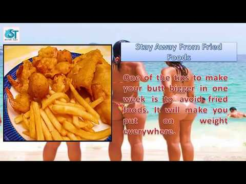 How to Increase Buttocks Size Naturally in Week  |  ways to increase buttocks size